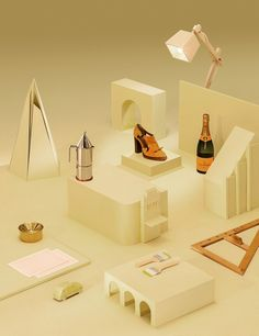 wallpaper* magazine- styling Elena Mora, photographer Qiu Yang #product #stilllife #editorial