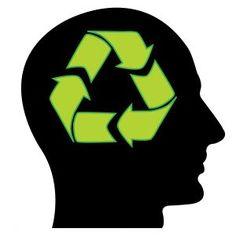 reciclar pensamentos