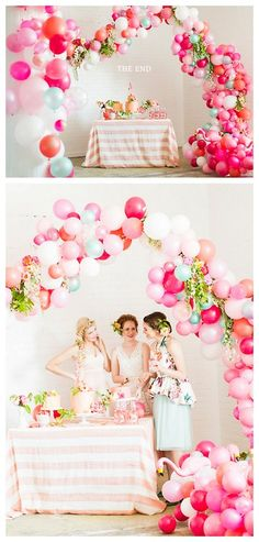 DIY Balloon Arch Tutorial from The House that Lars...