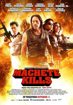 Huge number of stars! Pretty entertaining... once you get past the gore. #machetekills #movie #entertainment