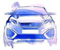 Another cool sketch of the new PEUGEOT 5008... #peugeot #peugeot5008 #new5008 #newpeugeot5008 #peugeotdesign #cardesign #design #automotivedesign #suv #newsuv #quartz #peugeotquartz #instacars #designsketch #sketch #sketches #drawing #illustration