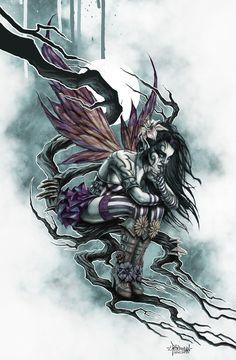 Dark Fairy by ~Loren86 on deviantART