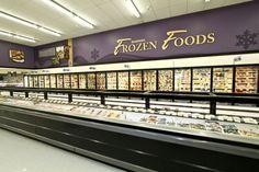 Frozen Foods, Harmons West, #Decorworx #Retail Design