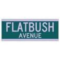 Flatbush Ave street sign