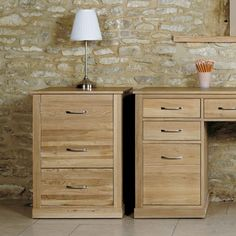 Mobel Oak Printer Cupboard - COR07C