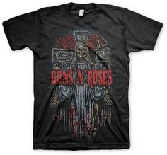 Guns N' Roses Mary Mary Mens T-Shirt