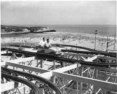 Santa Cruz, CA Boardwalk in the 1960's