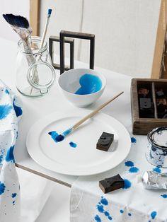 Släpp loss kreativiteten! STOCKHOLM tallrik, KORKEN burk, IKEA 365+ skål.