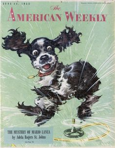 The American Weekly Magazine, June 14, 1953 (Albert Staehle)