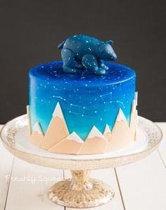 Baby Ursa Cake - Cake by Letterpress Bakery