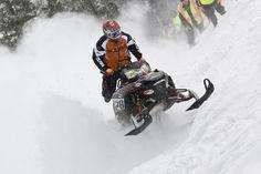 World Championship Snowmobile Hill Climb, Snow King Mountain, Jackson Hole Wyoming