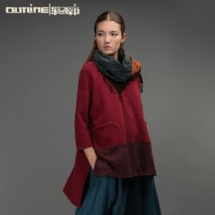 Find More Information about Outline Brand Women's Loose Tops O neck Long sleeve Pullover Outerwear Autumn Patchwork Vintage Women Casual ShirtL153Y011,High Quality brand name sweatshirts,China branded digital photo frames Suppliers, Cheap brand tea from OUTLINE on Aliexpress.com