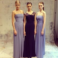 What do you think of the styles of this dress? I like the middle one a lot.