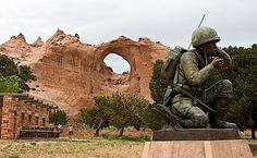 Window Rock, Navajo Reservation, Arizona, USA