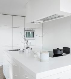 Bright home with a spacious kitchen - via cocolapinedesign.com