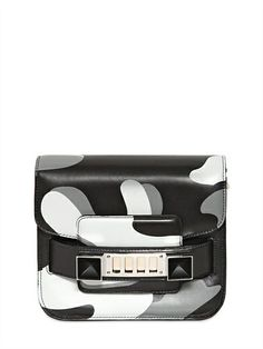 PROENZA SCHOULER - PS11 TINY CAMOUFLAGE PRINTED LEATHER BAG - LUISAVIAROMA - LUXURY SHOPPING WORLDWIDE SHIPPING - FLORENCE