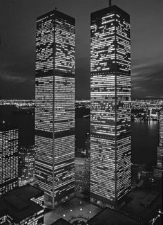 there were twin towers in New York..then one day in September 2001...Sept 11th to be exact...