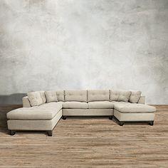 66 Quot W X 44 Quot D X 40 Quot H Arminio Sectional Furniture
