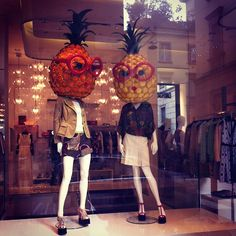 Photo by chogerheijde  #moschino #pineapple #windowplay #mymoschino