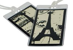 Paris Luggage Tags Set of Two Made in the USA >>> See this great product.Note:It is affiliate link to Amazon.