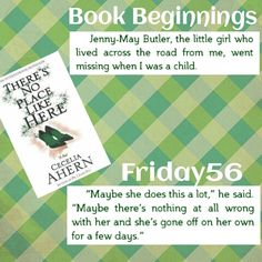 The Well-Read Pirate Queen: Book Beginnings & Friday56 : Cecelia Ahern's There's No Place Like Here
