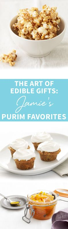 Don't fret over gifts this Purim! Find The Art of Edible Gifts: Jamie's Purim Favorites here! http://www.joyofkosher.com/2016/03/the-art-of-edible-gifts-jamies-purim-favorites/