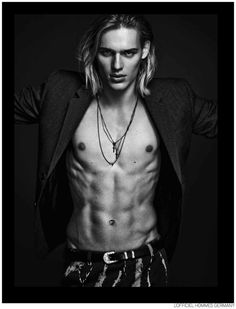 Ton Heukels Dons Fall Leather for LOfficiel Hommes Germany image Ton Heukels LOfficiel Hommes Germany 003 800x1048