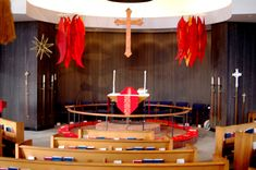 pentecostal worship service