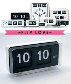 Via Deuce City | Flip Clocks