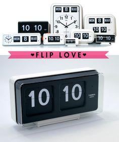 Via Deuce City | Flip Clocks