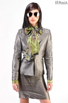 "MV8 Techno Bow Blouse ""Shield"", Business Costume ""Shyne"""