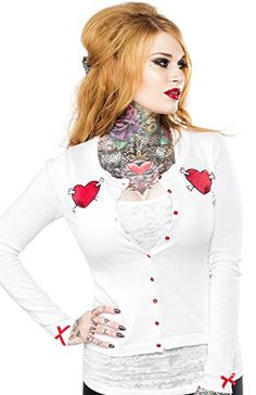 Sourpuss Puppy Love Cardigan L Sourpuss http://www.amazon.com/dp/B00TKLR17K/ref=cm_sw_r_pi_dp_eV.Xvb0WKSXHF