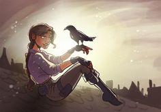 Inej Ghafa from six of crows