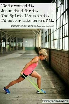 As if you need more reason to take care of your body. <3