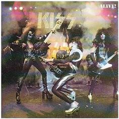 KISS Alive! you wanted the best, you got the best, the hottest band in the land, KISS! the top of their game.