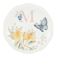 The most popular casual dinnerware collection in America, Butterfly Meadow is truly a contemporary mix and match classic. Inspired by the artistry of Louise Le Luyer, there are many delightful pattern varriations to choose from, each offering an exquisite array of butterflies, blooms and other... - http://kitchen-dining.bestselleroutlet.net/product-review-for-lenox-butterfly-meadow-dish-initial-m/