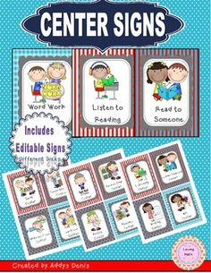 This HUGE FREEBIE is being offered for free for a limited time only! This is part of my FEEDBACK CHALLENGE to reach 5,000 ratings for this product. Please help me reach my goal by downloading this item and kindly leaving a rating!!!This packet is designed to set up learning centers in your classroom.