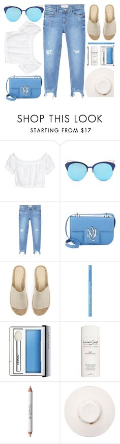"""""""Summer Walk"""" by smartbuyglasses ❤ liked on Polyvore featuring LMNT, MANGO, Alexander McQueen, Mint Velvet, Too Faced Cosmetics, Clinique, Leonor Greyl, Rouge Bunny Rouge, Melissa Odabash and white"""