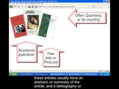 Scholarly Vs. Popular Sources - tutorial from Ohlone College