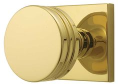 Emtek Modern Brass Bern Style Door Knob - www.homesteadhardware.com
