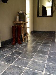 Stone Tile Floor @ Entry