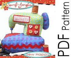 PDF Sewing Machine Sewing Pattern - Sew Happy