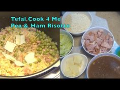 Tefal Cook 4 Me Pea & Ham Risotto, cheekyricho video recipe and mini review. https://youtu.be/G33Jlwn0nYY