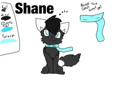 This is my oc Shane. He's not new but I hope ya like him!