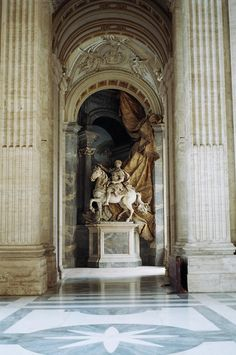 Equestrian Statue of Charlemagne, St. Peter's Basilica