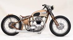 Triumph | Bobber Inspiration - Bobbers and Custom Motorcycles | cafuneus September 2014