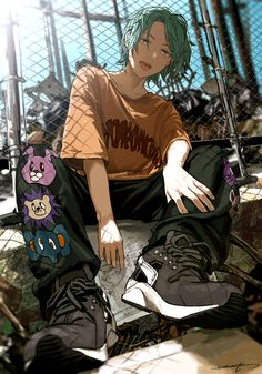 Anime Art Girl, Manga Art, Pretty Art, Cute Art, Japon Illustration, Anime Scenery Wallpaper, Naruto Wallpaper, Boy Art, Drawing Poses