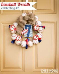 Tammy makes a wreath.