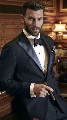 Tuxedo and cigar