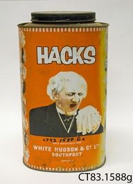 Hacks Lozenges Tin